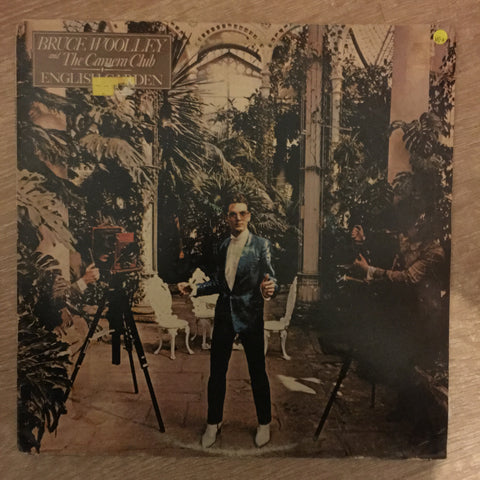 Bruce Woolley And The Camera Club ‎– English Garden - Vinyl LP Record - Opened  - Very-Good+ Quality (VG+)
