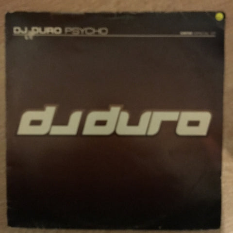 DJ Duro - Psycho - Vinyl Record - Opened  - Very-Good Quality (VG)