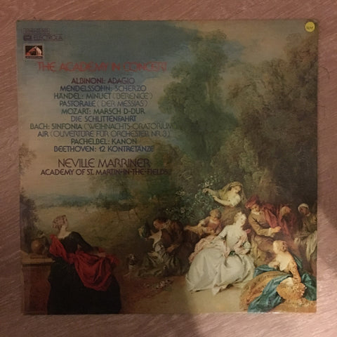 Academy Of St. Martin-In-The-Fields - Neville Marriner ‎– The Academy In Concert - Vinyl LP Record - Opened  - Very-Good+ Quality (VG+)
