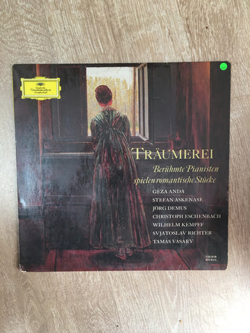 Various - Romantic Famous Classic Piano ‎– Träumerei (Berühmte Pianisten Spielen Romantische Stücke) - Vinyl LP Record - Opened  - Very-Good Quality (VG) - C-Plan Audio