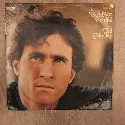 Bill Medley ‎– Soft And Soulful - Vinyl LP Record - Opened  - Very-Good Quality (VG)
