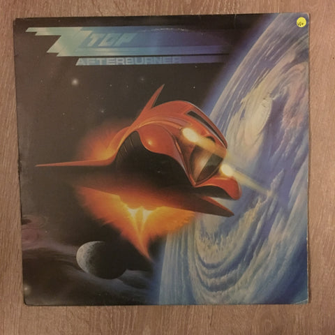 ZZ Top - Afterburner  - Vinyl LP - Opened  - Very-Good+ Quality (VG+)