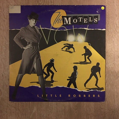 The Motels - Little Robbers  - Vinyl LP Record - Opened  - Very-Good+ Quality (VG+)
