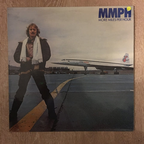 John Miles ‎– MMPH - More Miles Per Hour - Vinyl LP Record - Opened  - Very-Good+ Quality (VG+) - C-Plan Audio