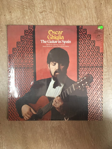 Oscar Ghiglia - The Guitar in Spain - Vinyl LP Record - Opened  - Very-Good+ Quality (VG+) - C-Plan Audio