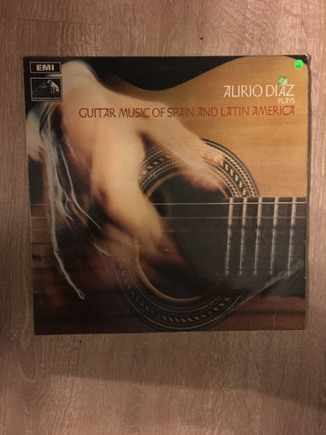 Alirio Diaz Plays Guitar Music of Spain and Latin America - Vinyl LP Record - Opened  - Very-Good Quality (VG)