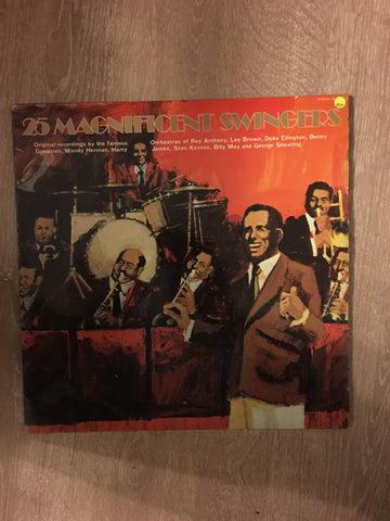 25 Magnificent Swingers - Vinyl LP Record - Opened  - Very-Good+ Quality (VG+)