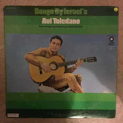 Avi Toledano - Song's By Israel's Avi Toleano - Vinyl Record - Opened  - Very-Good Quality (VG)