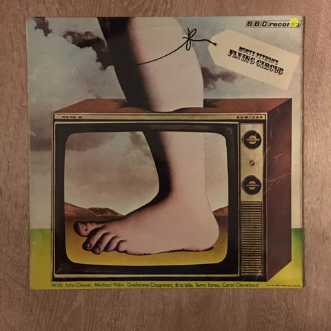 The Worst of Monty Pythons Flying Circus  - Vinyl LP Record - Opened  - Very-Good Quality- (VG-) - C-Plan Audio