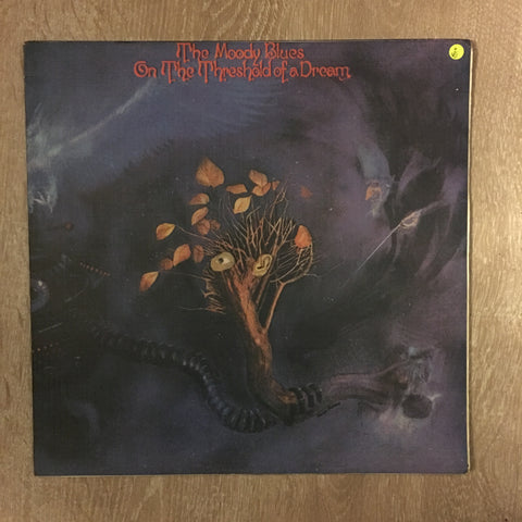 The Moody Blues ‎– On The Threshold Of A Dream - Vinyl LP Record - Opened  - Very-Good Quality (VG) - C-Plan Audio