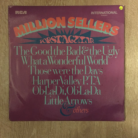Million Sellers - Popstacular - Vinyl LP Record - Opened  - Very-Good- Quality (VG-) - C-Plan Audio