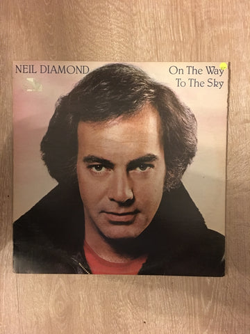 Neil Diamond  - On the Way to the Sky - Vinyl LP - Opened  - Very-Good+ Quality (VG+)