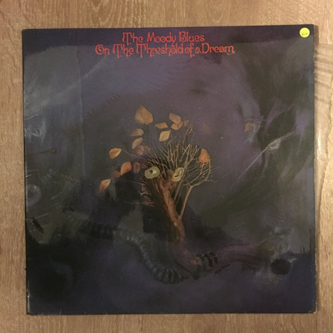 The Moody Blues ‎– On The Threshold Of A Dream - Vinyl LP Record - Opened  - Very-Good+ Quality (VG+) - C-Plan Audio