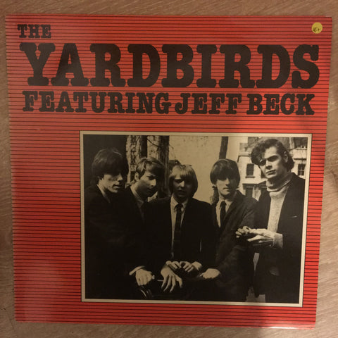 The Yardbirds Featuring Jeff Beck - Vinyl LP Record - Opened  - Very-Good+ Quality (VG+)