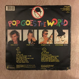 Men Without Hats - Pop Goes The World - Vinyl LP Record - Opened  - Very-Good Quality- (VG-) - C-Plan Audio