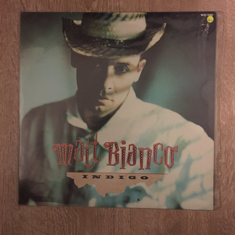 Matt Bianco - Indigo - Vinyl LP - Opened  - Very-Good+ Quality (VG+) - C-Plan Audio