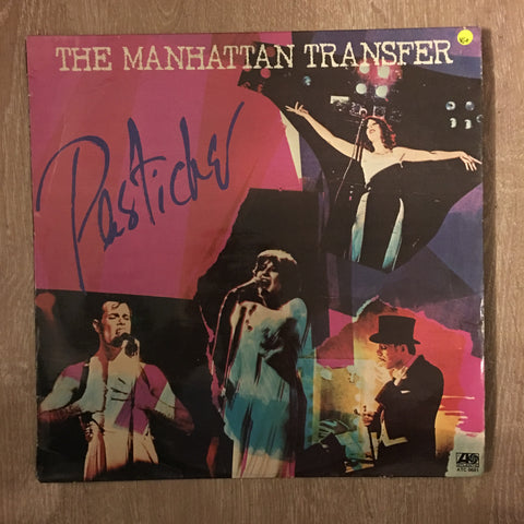The Manhattan Transfer ‎– Pastiche - Vinyl LP Record - Opened  - Very-Good+ Quality (VG+)