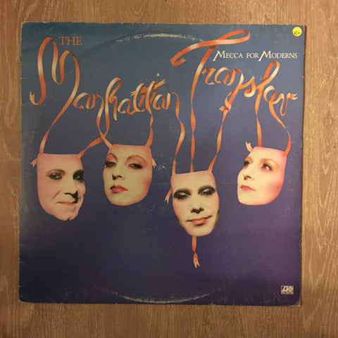 The Manhattan Transfer ‎– Mecca For Moderns - Vinyl LP Record - Opened  - Very-Good+ Quality (VG+)
