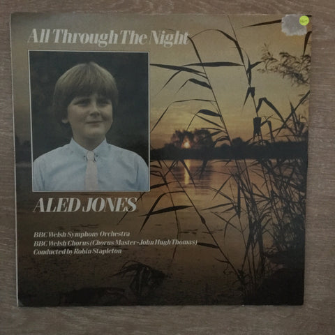 Aled Jones - All Through The Night - Vinyl LP Record - Opened  - Very-Good- Quality (VG-)
