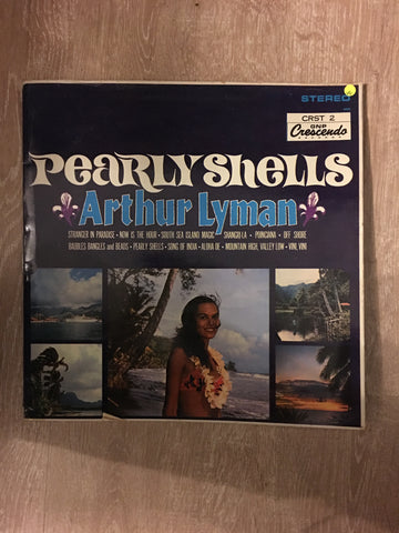 Arthur Lyman - Pearly Shells - Vinyl LP Record - Opened  - Very-Good Quality (VG)
