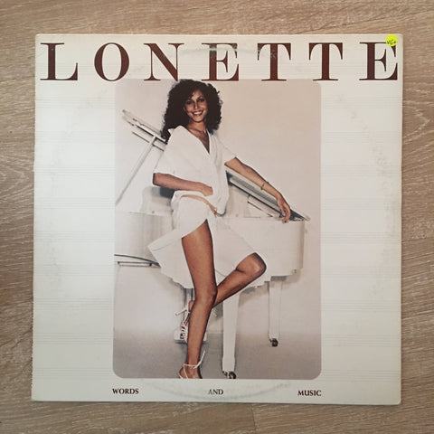 Lonette McKee ‎– Words And Music - Vinyl LP Record - Opened  - Very-Good+ Quality (VG+)