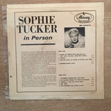 Sophie Tucker ‎– Sophie Tucker In Person with Ted Shapiro - Vinyl LP Record - Opened  - Very-Good+ Quality (VG+) - C-Plan Audio