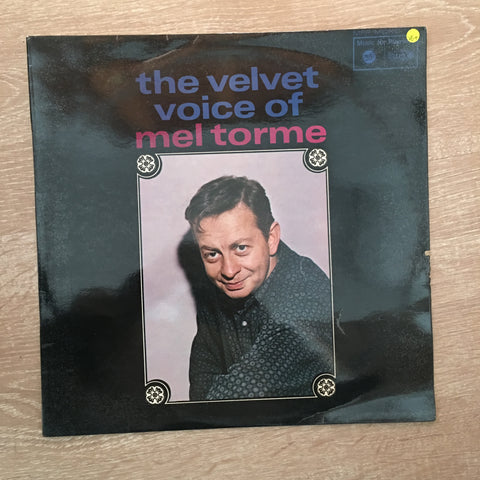 The Velvet Voice of Mel Torme - Vinyl LP Record - Opened  - Very-Good+ Quality (VG+) - C-Plan Audio