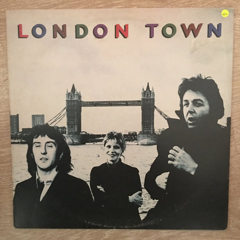 Wings (Paul McCartney) - London Town ‎- Vinyl LP Record - Opened  - Very-Good+ Quality (VG+)