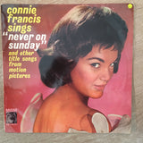 Connie Francis - Sings Never On Sunday - Vinyl LP Record - Opened  - Very-Good+ Quality (VG+)