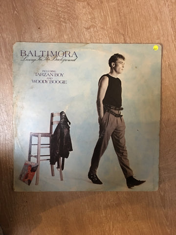 Baltimora - Living in the Background - Vinyl LP Record - Opened  - Good+ Quality (G+)