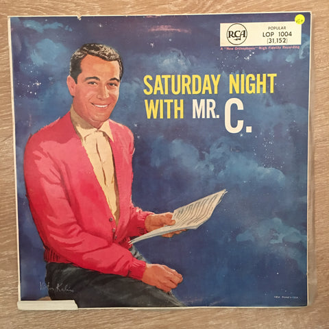Perry Como - Saturday Night with Mr C - Vinyl LP Record - Opened  - Very-Good+ Quality (VG+) - C-Plan Audio