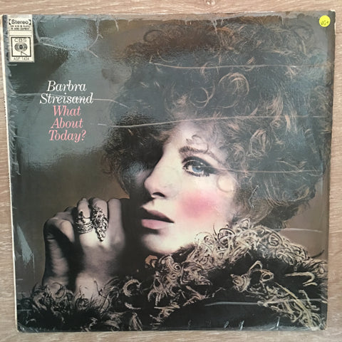 Barbra Streisand - What ABout Today - Vinyl LP Record - Opened  - Very-Good+ Quality (VG+) - C-Plan Audio