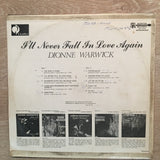 Dionne Warwick - I'll Never Fall In Love Again - Vinyl LP Record - Opened  - Very-Good Quality (VG)