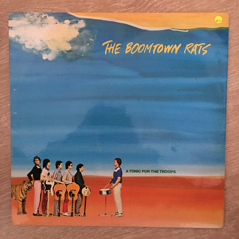 Boomtown Rats - A Tonic For The Troops - Vinyl LP Record - Opened  - Very-Good+ Quality (VG+)