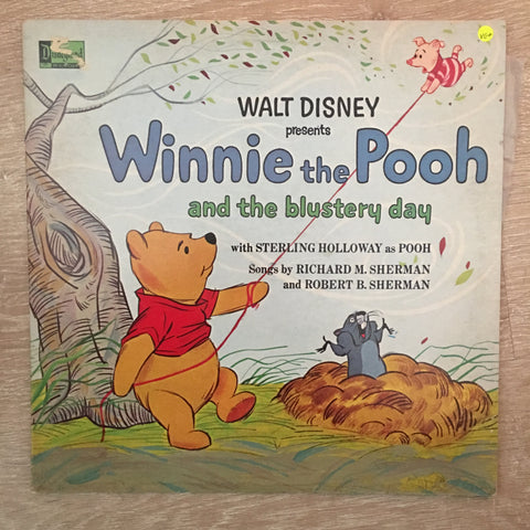 Winnie The Pooh And The Blustery Day ‎- Vinyl LP Record - Opened  - Very-Good+ Quality (VG+)