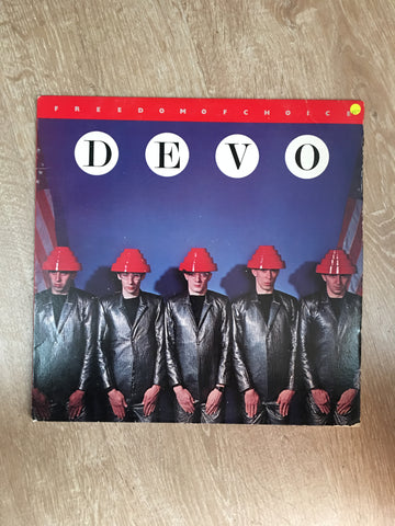 Devo - Freedom Of Choice  - Vinyl LP Record - Opened  - Very-Good- Quality (VG-)