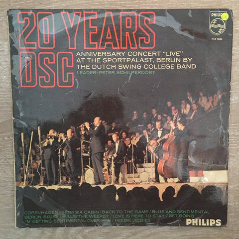 (DSC) Dutch Swing College Band - 20 Years ‎– Vinyl LP Record - Opened  - Good+ Quality (G+)