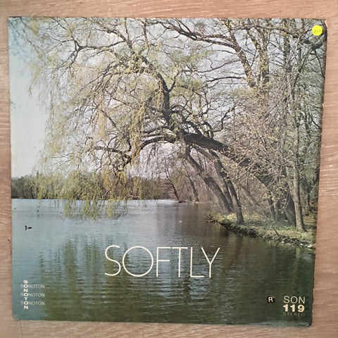 John Fiddy / Norman Candler ‎– Softly ‎- Vinyl LP Record - Opened  - Very-Good+ Quality (VG+)
