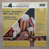 Edmundo Ros And His Orchestra ‎– Latin Melodies Old And New -  Vinyl LP Record - Opened  - Very-Good+ Quality (VG+) - C-Plan Audio