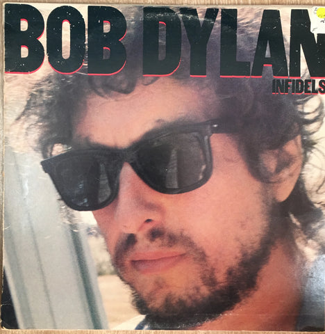 Bob Dylan ‎– Infidels - Vinyl LP - Opened  - Very-Good+ Quality (VG+)