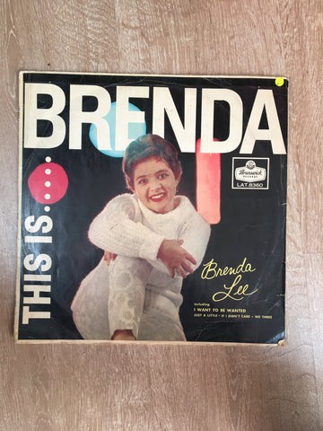 Brenda Lee - This Is Brenda - Vinyl LP Record - Opened  - Good Quality (G)