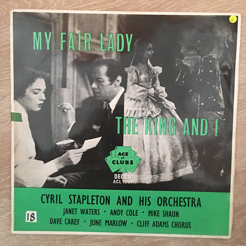 Cyril Stapleton And His Orchestra ‎– My Fair Lady / The King And I - Vinyl LP Record - Opened  - Very-Good- Quality (VG-)