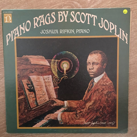 Joshua Rifkin ‎– Piano Rags by Scott Joplin  -  Vinyl LP Record - Opened  - Very-Good+ Quality (VG+) - C-Plan Audio