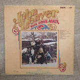John Denver - Back Home Again -  Vinyl LP Record - Opened  - Very-Good+ Quality (VG+) - C-Plan Audio