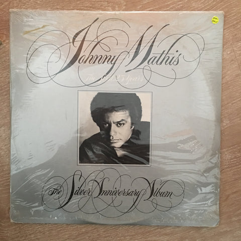Johnny Mathis - The Silver Anniversary Album -  Vinyl LP - Sealed