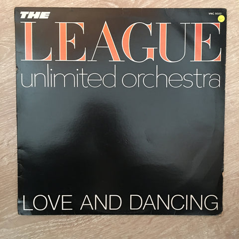League Unlimited Orchestra -  Love and Dancing - Vinyl LP Record - Opened  - Very-Good Quality (VG) - C-Plan Audio