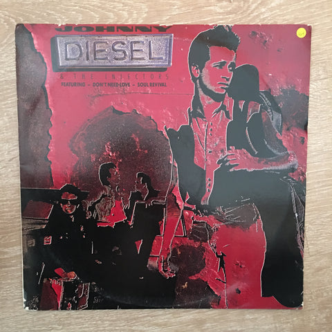 Johnny Diesel & The Injectors -  Vinyl LP Record - Opened  - Very-Good+ Quality (VG+) - C-Plan Audio
