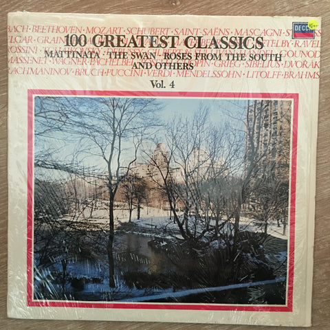 100 Greatest Classics - Vol 4 -  Vinyl LP Record - Opened  - Very-Good+ Quality (VG+)