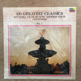100 Greatest Classics - Vol 3 -  Vinyl LP Record - Opened  - Very-Good+ Quality (VG+)