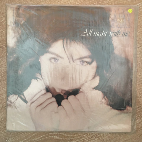 Laura Branigan ‎– All Night With Me  - Vinyl LP Record - Opened  - Very-Good+ Quality (VG+) - C-Plan Audio